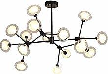MAZ Modern Sputnik Chandelier Lighting 16 Lights