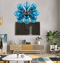 MAZ Postmodern Creative Glass Chandelier Living