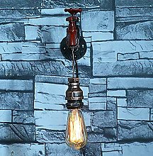 MAZ Retro Wrought Iron Craft European Water Pipe