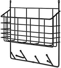 Maze - Small Ecofriendly Black Wall Storage Basket