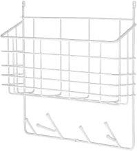 Maze - Small Ecofriendly White Wall Storage Basket