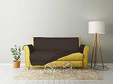 "MB HOME "" Cozy"" Non-Slip Sofa Cover, Brown, 1"