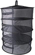 MB-LANHU Mesh Dry Net Collapsible 4 Layer Mesh Dry
