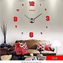 mbbvv Arabic numeral wall clock home decoration 3D