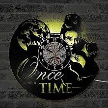 mbbvv Wall clock vintage vinyl wall clock gifts