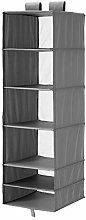 MBI Storage with 6 compartments Dark grey,