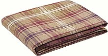 McAlister Textiles Angus Table Runner   Mulberry