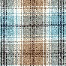 McAlister Textiles Angus Tartan Duck Egg Blue