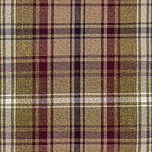 McAlister Textiles Angus Tartan Mulberry Purple