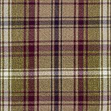 McAlister Textiles Angus Tartan Mulberry Purple