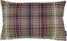 McAlister Textiles Angus Tartan Mulberry Purple +