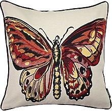 McAlister Textiles Butterfly Bug 43cm Cushion