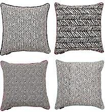 McAlister Textiles Designer Set of 4 Filled