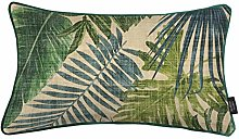 McAlister Textiles Green Palm Leaf 50x30cm Filled