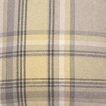 McAlister Textiles Heritage Tartan Mimosa Yellow