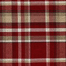 McAlister Textiles Heritage Tartan Red + White