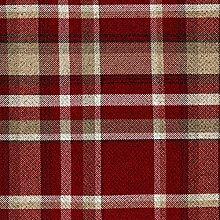 McAlister Textiles Heritage Tartan Red + White