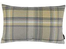 McAlister Textiles Heritage Tartan Yellow + Grey