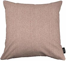 McAlister Textiles Herringbone Lilac Pink 49cm