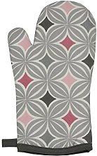 McAlister Textiles Laila Blush Pink + Grey Single