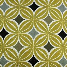 McAlister Textiles Laila Fabric | Ochre Yellow +