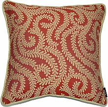 McAlister Textiles Little Leaf Terracotta Orange