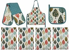 McAlister Textiles Magda Kitchen Cooking Set |