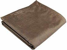 McAlister Textiles Matt Velvet Bed Runner | Mocha
