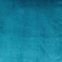 McAlister Textiles Matt Velvet Duck Egg Blue