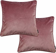 McAlister Textiles Matt Velvet Filled Cushions