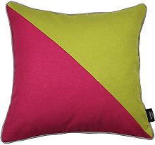 McAlister Textiles Patchwork Lime Green + Fuchsia