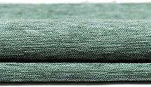 McAlister Textiles Plain Chenille Duck Egg Blue