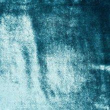 McAlister Textiles Shiny Velvet Duck Egg Blue