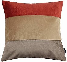 McAlister Textiles Straight Patchwork Cushion