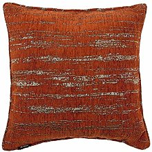 McAlister Textiles Textured Chenille Burnt Orange