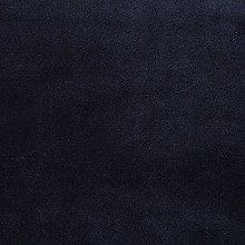 McAlister Textiles Velvet Black Half Metre, Plain