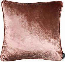 McAlister Textiles Velvet Blush Pink 43cm Cushion