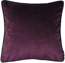 McAlister Textiles Velvet Dark Purple 49cm Cushion