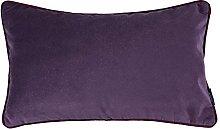 McAlister Textiles Velvet Dark Purple 50x30cm