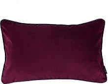 McAlister Textiles Velvet Dark Red 50x30cm Filled