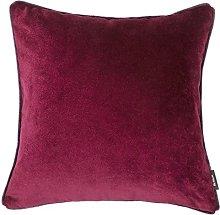 McAlister Textiles Velvet Dark Red 60cm Filled