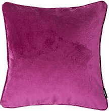 McAlister Textiles Velvet Hot Pink 49cm Cushion