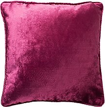McAlister Textiles Velvet Hot Pink 49cm Filled