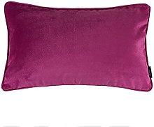 McAlister Textiles Velvet Hot Pink 60x40cm Cushion