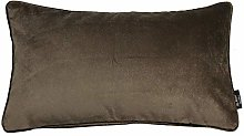 McAlister Textiles Velvet Mocha Brown 50x30cm
