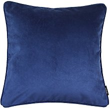McAlister Textiles Velvet Navy Blue 60cm Cushion