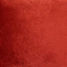 McAlister Textiles Velvet Orange Rust Red Half