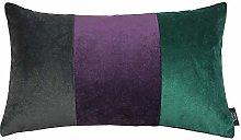 McAlister Textiles Velvet Patchwork 50x30cm Filled