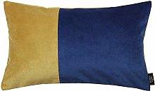 McAlister Textiles Velvet Patchwork Ochre Yellow +