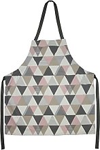McAlister Textiles Vita Apron | Blush Pink + Grey